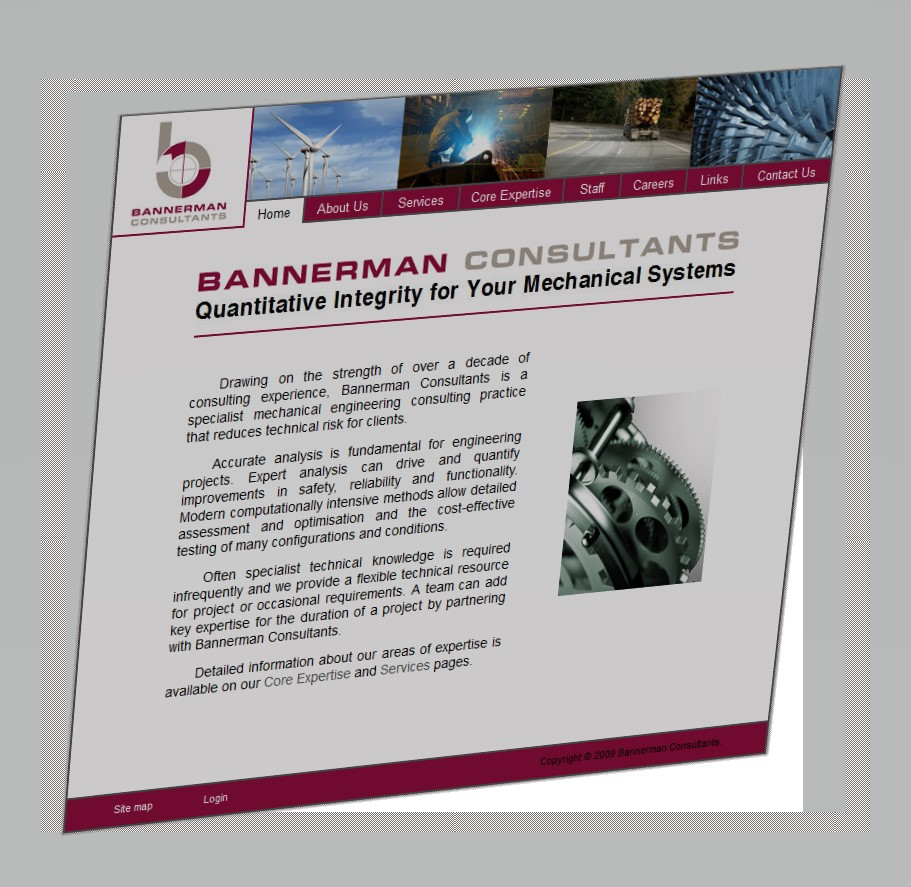 New Website for Bannerman Consultants